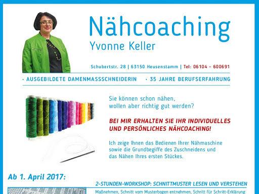 Yvonne Keller / Änderungsschneiderei / Nähcoaching