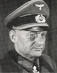 portret van Nazi officier Recknagel