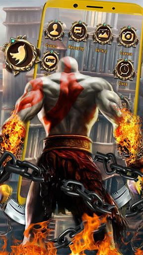 Kratos, Of, War Themes & Live Wallpapers Mod Apk Unlimited ...