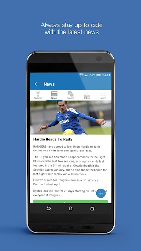 Fan App for Rangers FC