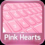 GO Keyboard Pink Hearts 3.1 Apk