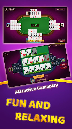 Chinese Poker Offline 1.0.4 screenshots 3