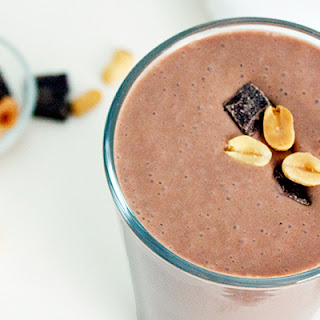 Chocolate Peanut Butter Protein Shake.