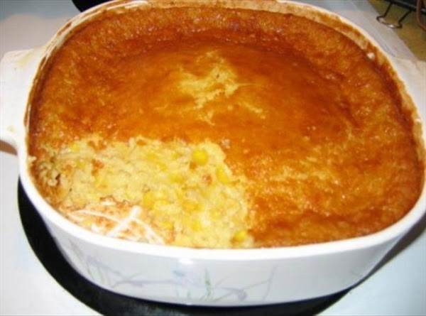 Outrageous Corn Pudding Recipe