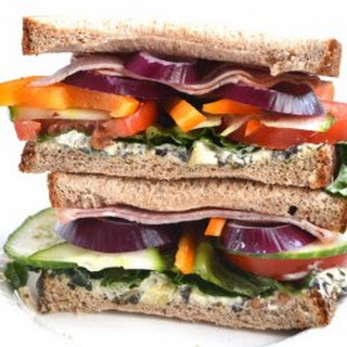 Fully Loaded Ham Sandwich