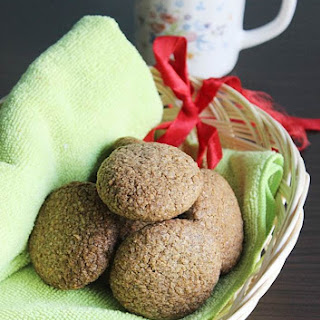 Ragi Cookies | Ragi Biscuits Recipe | How To Make Crunchy Ragi Cookies