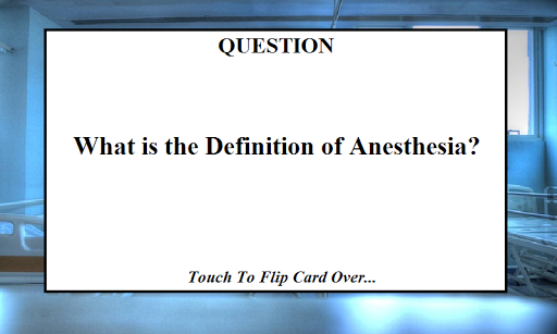 Anesthesiologist Study Book