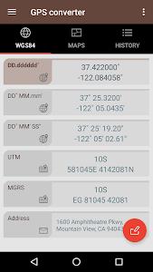 GPS Converter 1.0.5a
