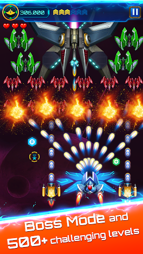 Space attack - infinity air force shooting  screenshots 15
