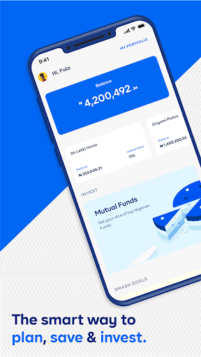 Cowrywise - Save and Invest Securely  screenshots 1