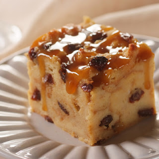 Raisin Bread Pudding.