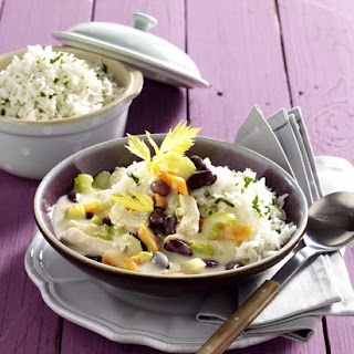 Creamy Chicken with Rice and Beans