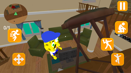 Neighbor Sponge. Scary Secret 3D 1.4 screenshots 4