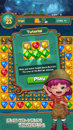 Jewels fantasy : match 3 puzzle 1.0.34 6