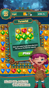 Jewels fantasy : match 3 puzzle 4