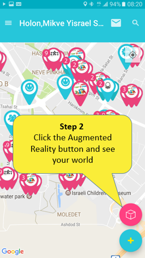 Inhood ar create your augmented reality world android - Create your world ...