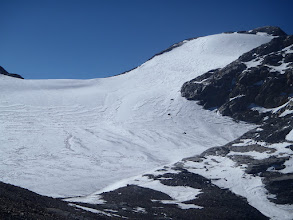 Photo: Right side view from the pass at 5700m in the morning