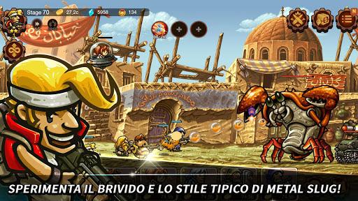 Metal Slug Infinity: Idle Tap Game & Retro 2D RPG  άμαξα προς μίσθωση screenshots 1