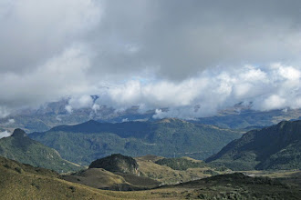 Photo: View from Papallacta Pass Road