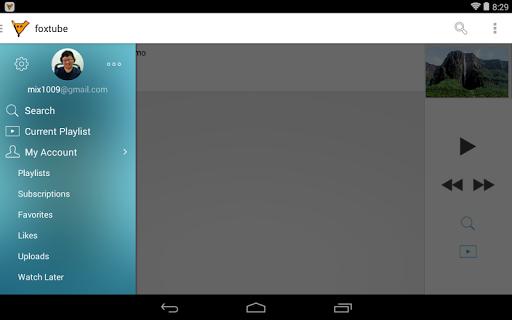 FoxTube - YouTube Player  screenshots 7