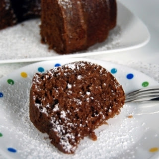 Mexican Chocolate Angel Food Cake