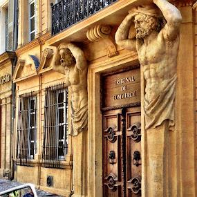 Aix de Provence Bank by Donna Silva - Buildings & Architecture Architectural Detail