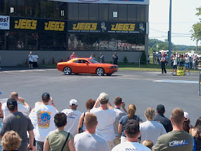 Photo: New challenger on the dragstrip