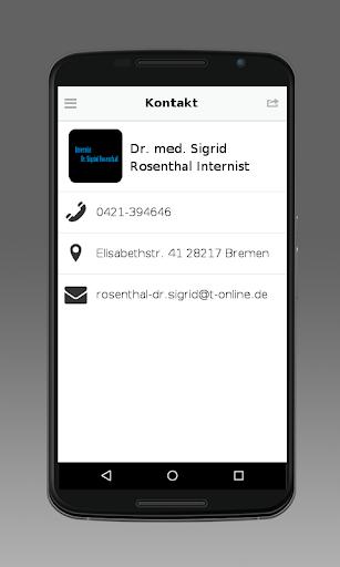 Internist Dr. Sigrid Rosenthal