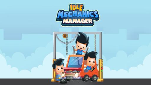 Idle Mechanics Manager u2013 Car Factory Tycoon Game filehippodl screenshot 1