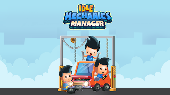 Idle Mechanics Manager Mod Apk (Unlimited Money) 1.31 1