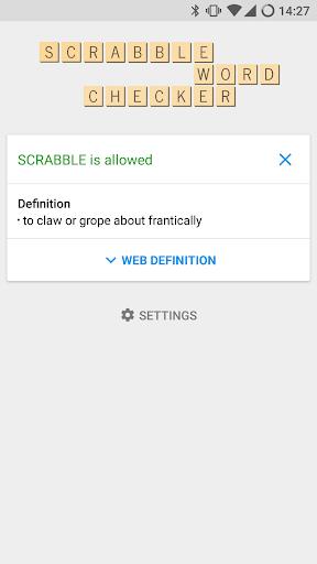 SCRABBLE Word Checker  screenshots 1