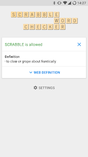 SCRABBLE Word Checker- screenshot thumbnail