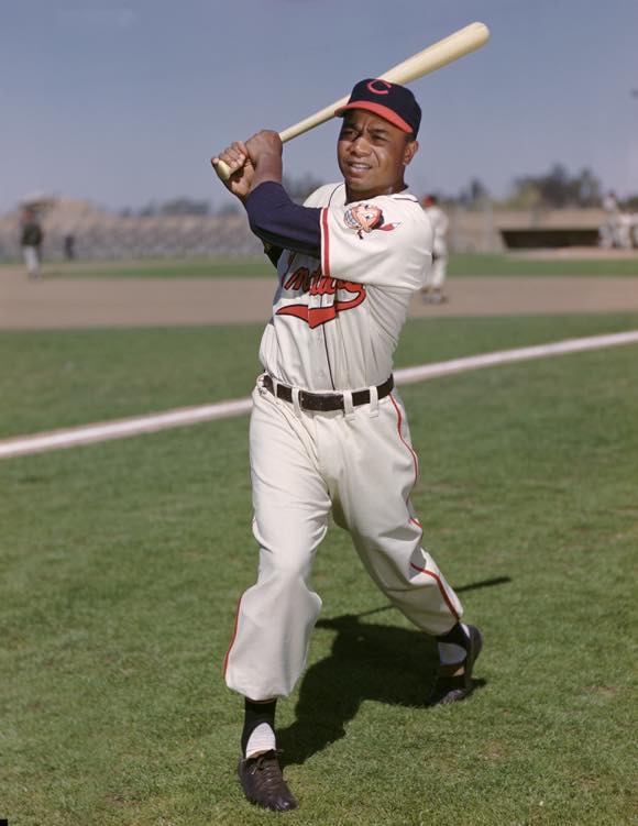 1951 Chief Wahoo with yellow skin. photo credit: AP Images