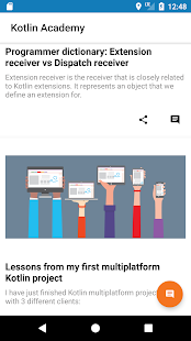 Kotlin Academy news- screenshot thumbnail