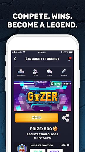 GIZER   The Global Gaming Network screenshot 1