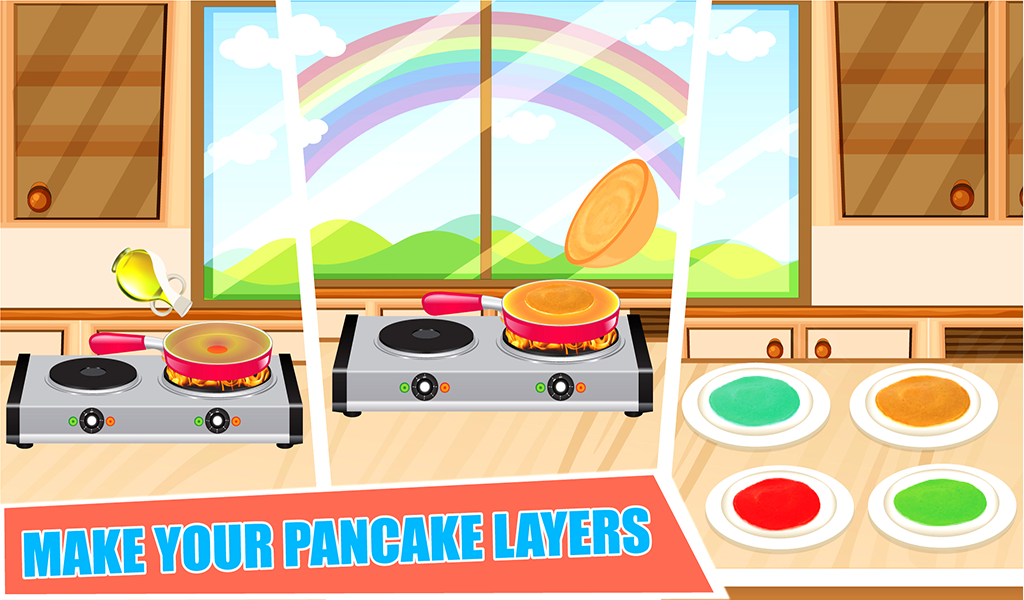 Pan Cake Maker Games