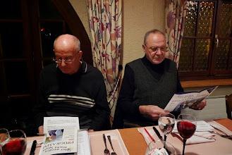 Photo: (l) Peter Schaffner und Emil Baschong