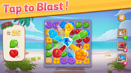 Ohana Island: Blast flowers and build filehippodl screenshot 5