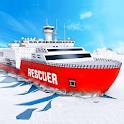 Arctic Ice Breaker Cruise Ship Driving Simulator icon