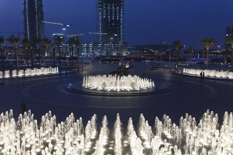Paisajismo en la torre Burj Khalifa - SWA Group
