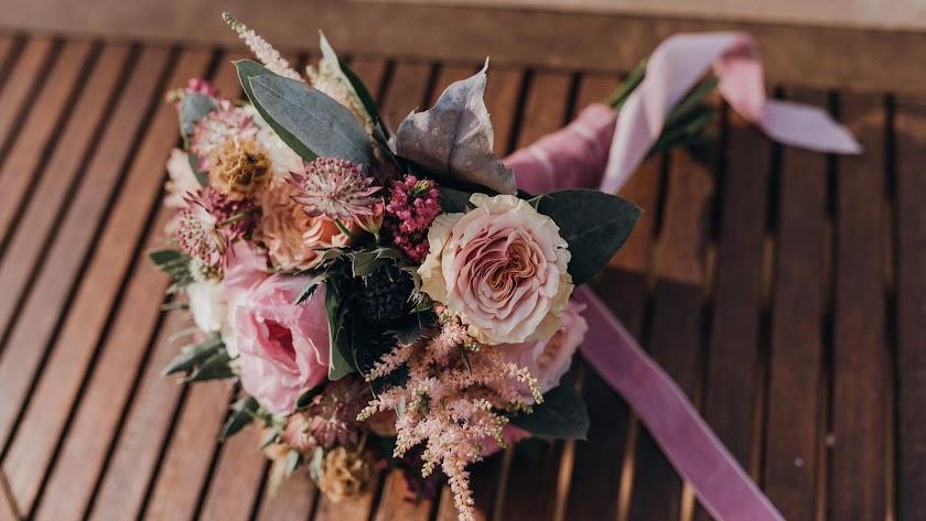 Ramo de la novia creado por Azabache Arte Floral.