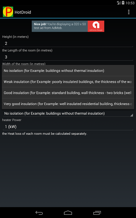 Electric heating calculator – Android Apps on Google Play