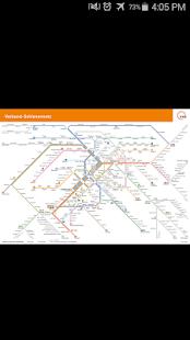 Stuttgart Rail Map - náhled