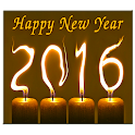 New Year 2016 Live Wallpaper icon