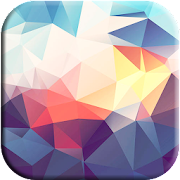 Polygon Wallpaper Abstract Art icon