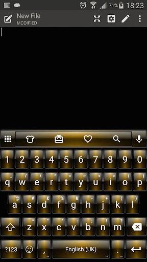 DuskGold Emoji キーボード