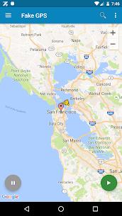 Fake GPS location Apk 1