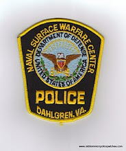 Photo: United States Department of Defense Police at the Dahlgren Naval Surface Warfare Center