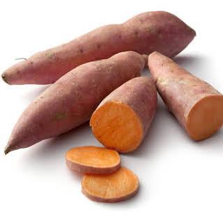Crock Pot Caramel Glazed Sweet Potatoes.