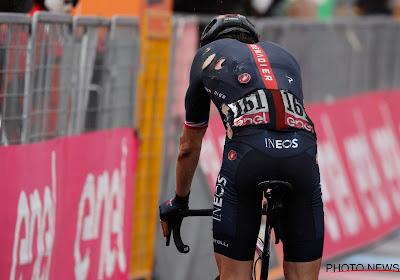 Een overzicht van de opgaves in de Giro